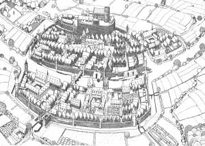 Mittelalterliche Befestigung