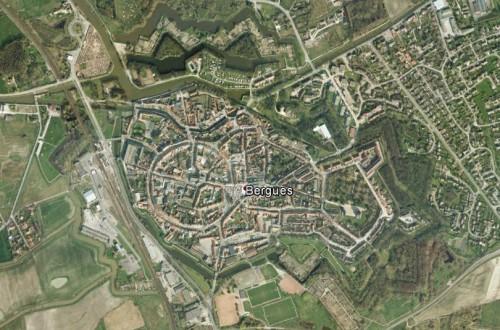 Bergues - erstellt mit Google Earth
