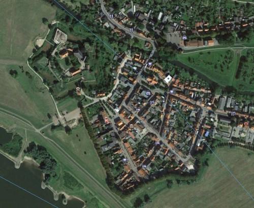 Dömitz - erstellt mit Google Earth
