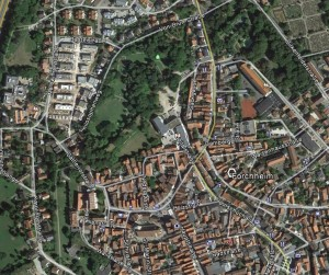 Forchheim. Quelle: Google Earth.