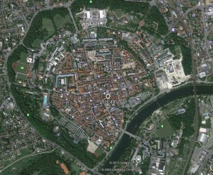 Ingolstadt. Quelle: Google Earth.