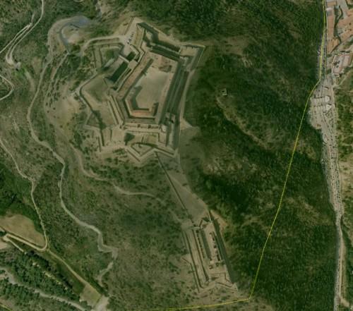 Le Perthus - erstellt mit Google Earth