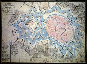 Coesfeld in den 1660er (?) Jahren.