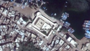 Fort St. Julien. Quelle: Google Earth.