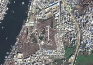 Fort de l'Esbe. Quelle: Google Earth.