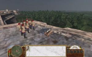 Festungsgeschütz mit Lafette in Empire Total War.