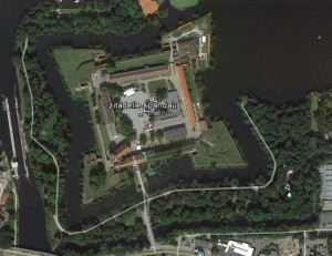 Zitadelle Spandau. Quelle: Google Earth.